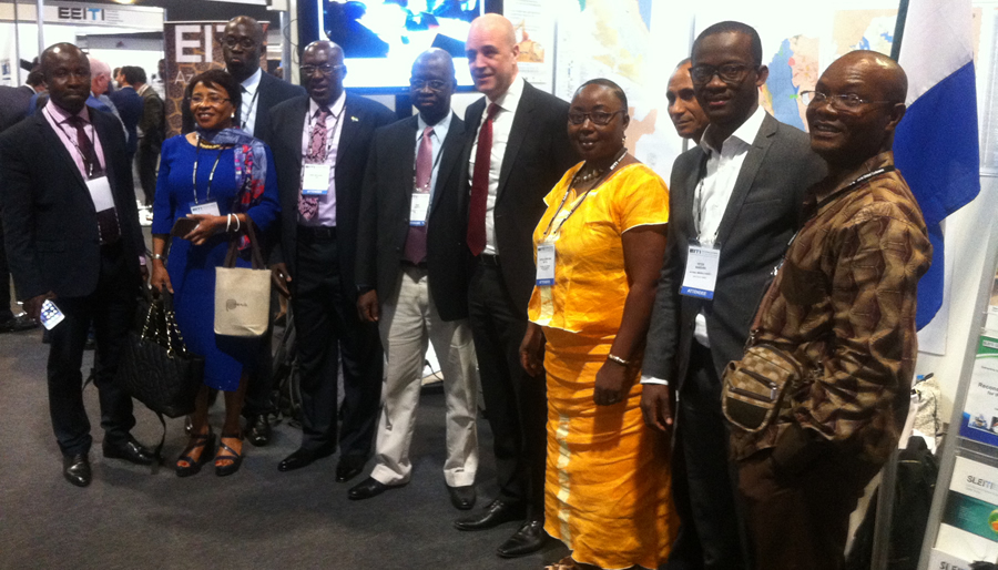 Sierra Leone extractive potentials showcased at EITI global confab