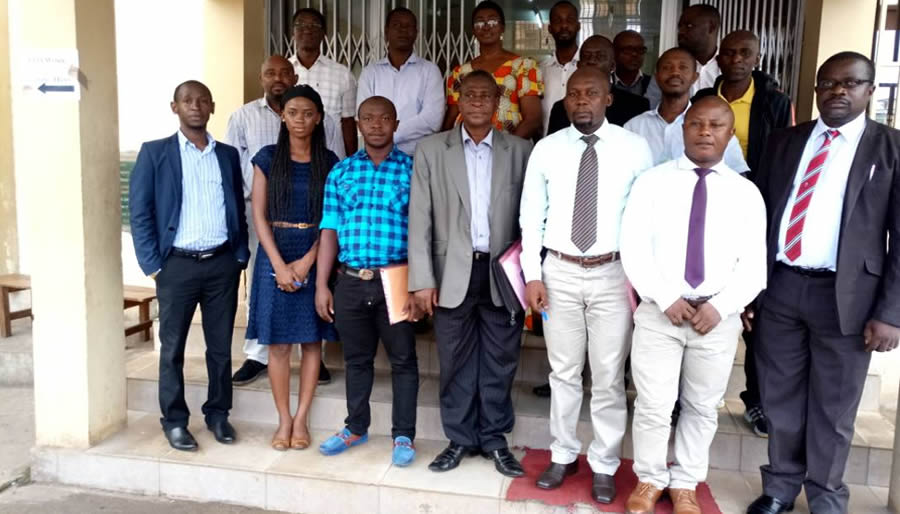 SLEITI Trains Mining, Oil & Gas Companies for 2015-2016 Reporting